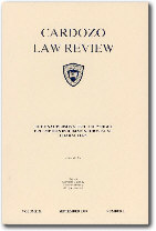 Cardozo Law Review